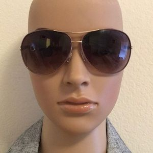 Like new aviator sunglasses braided temple